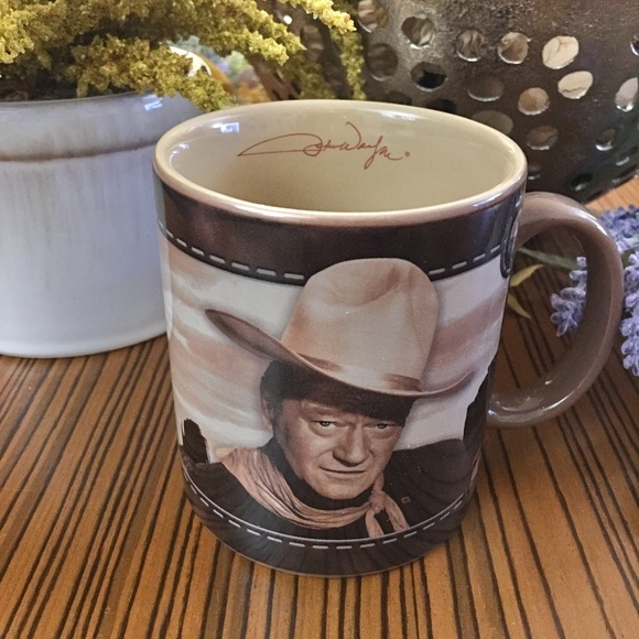 "John Wayne ""Whoa, Take'er Easy There Pilgrim"" Mug"